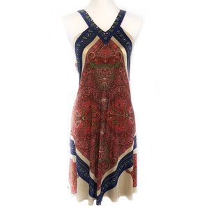 NWOT Anthropologie Leifnotes Paisley Dress, M